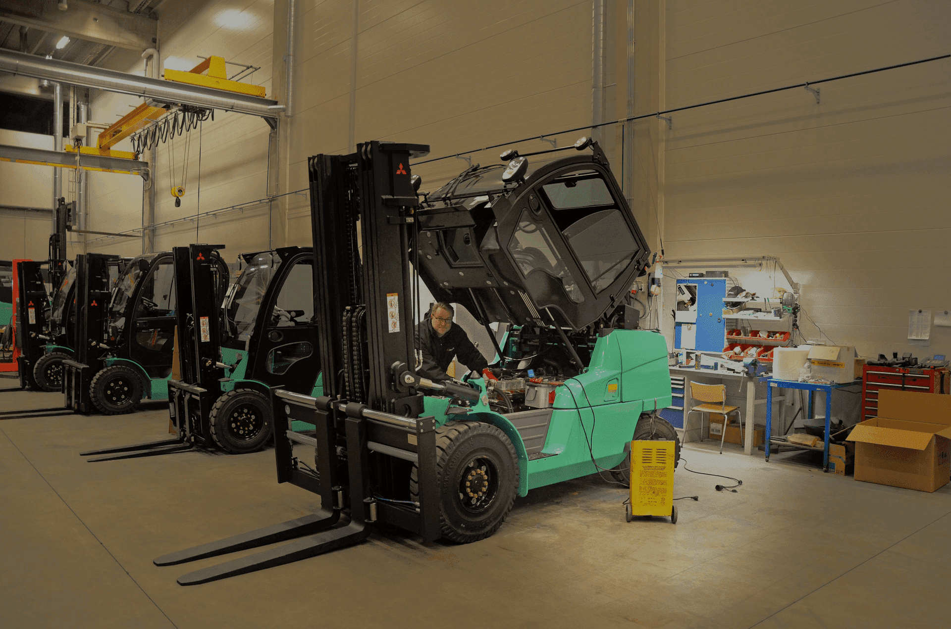 forklift repairs melbourne
